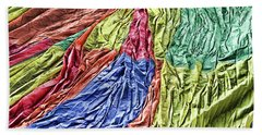 Balloon Abstract 1 Beach Towel by Marie Leslie
