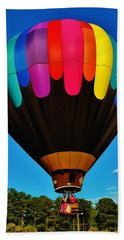 Balloon Colors Beach Sheet