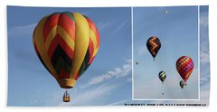 Balloon Festival Indianola, Iowa Beach Towel