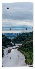 Balloon Fiesta Bristol B Beach Sheet