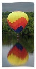 Balloon Reflections Beach Sheet
