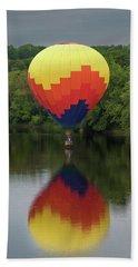 Balloon Reflections Beach Towel