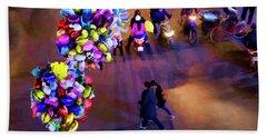 Balloons Hanoi Hoan Kiem Lake  Beach Towel
