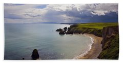 Ballydowane Beach, Copper Coast, County Beach Towel