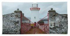 Ballyglass Lighthouse Beach Towel