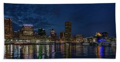 Baltimore Harbor Beach Towel