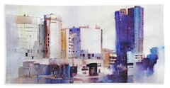 Baltimore Plaza Beach Towel