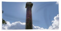 Beach Towel featuring the photograph Baltimore's Washington Monument by Brian Wallace