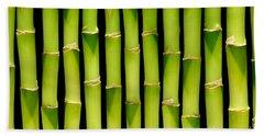Bamboo Bamboo Bamboo Beach Towel