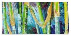 Bamboo Delight Beach Sheet by Lisa Boyd