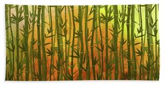 Bamboo Forest Beach Towel