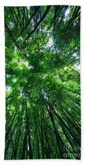 Bamboo Forest Beach Sheet