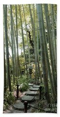 Bamboo Forest Beach Sheet