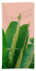 Banana Leaves Beach Sheet by Rafael Farias