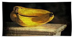 Beach Towel featuring the photograph Bananas Pedestal by Diana Angstadt