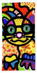 Bandit The Lemur Cat Beach Towel