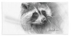 Bandit The Raccoon Beach Sheet