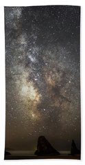 Bandon And Milky Way Beach Towel