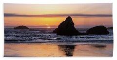 Bandon Glows Beach Towel