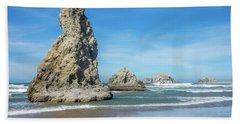 Bandon Rocks Beach Towel