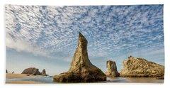 Bandon Sea Stacks Beach Sheet