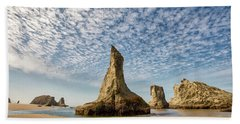 Bandon Sea Stacks Beach Towel