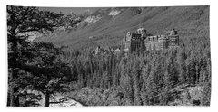 Banff Springs Hotel Beach Towel