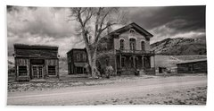 Bannack Montana Ghost Town Beach Sheet