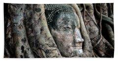 Banyan Tree Buddha Beach Towel