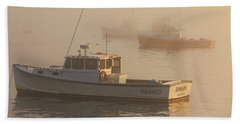 Bar Harbor Fleet Beach Towel