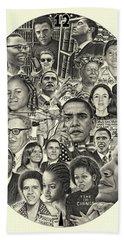 Barack Obama- Time For Change Beach Sheet