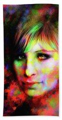 Barbara Streisand Beach Sheet