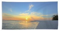 Barefoot Sunset Beach Towel
