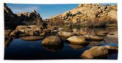 Barker Dam Lake Beach Towel