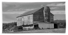 Beach Sheet featuring the photograph Barn 1 by Mike McGlothlen