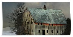 Barn And Sundog Beach Towel