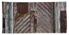 Barn Door Appalachia Beach Sheet by Steve Archbold