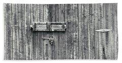 Barn Door Beach Towel by Steve Archbold