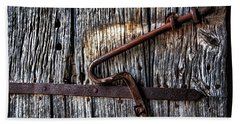 Barn Lock Beach Sheet by Patrick Boening