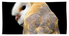 Barn Owl Beach Towel