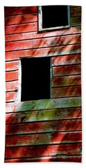 Beach Towel featuring the photograph Barn Red by Kendall McKernon