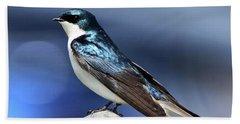 Barn Swallow Beach Towel