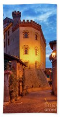 Beach Towel featuring the photograph Barolo Morning by Brian Jannsen