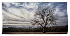 Baron Tree Of Winter Beach Towel