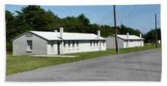 Barracks At Fort Miles - Cape Henlopen State Park Beach Towel by Brendan Reals