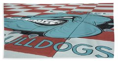 Barracks Bulldog Beach Towel