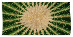 Barrel Cactus No. 6-1 Beach Towel