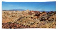 Barren Desert Beach Sheet