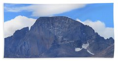 Beach Towel featuring the photograph Barren Mountain Landscape Colorado by Dan Sproul