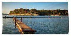 Barren River Lake Dock Beach Sheet